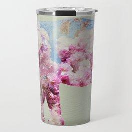 Cherry blossom Elephant Travel Mug
