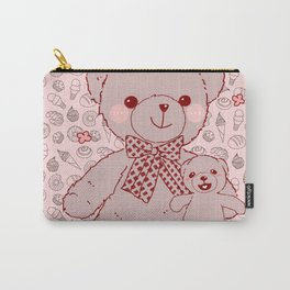 The Adventures of Bear and Baby Bear-Pastry2 Carry-All Pouch