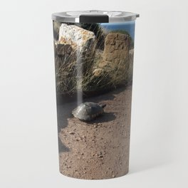 Grecian Turtle Travel Mug