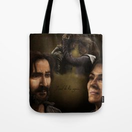 """""""I can't do this again..."""" Tote Bag"""