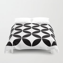 Geometric Pattern #65 (circles) Duvet Cover