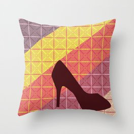 Sizzle Sizzle Throw Pillow