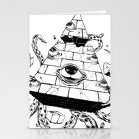 pyramid Stationery Cards featuring Pyramid by FactoriesFarAway