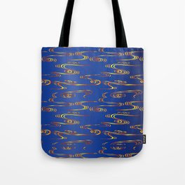 Traditional Japanese pattern RYU-SUI Tote Bag