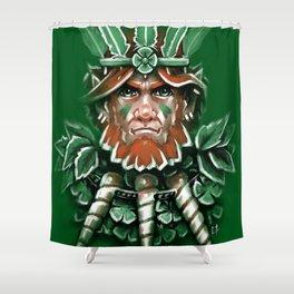 Wild Leprechan Shower Curtain