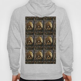 Carved Wood With Gilded Acanthus Leaves Hoody