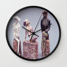Disintegrating Ideal Wall Clock