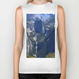 Vernal Falls And Nevada Falls Biker Tank