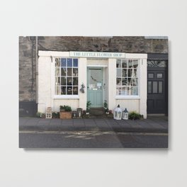 Little Flower Shop Metal Print