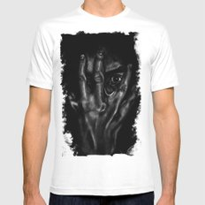 Inner workings of the mind MEDIUM Mens Fitted Tee White