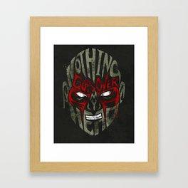 Drax Framed Art Print