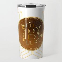Crypto coin - Bitcoin Travel Mug