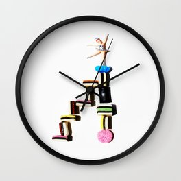 licorice staircase Wall Clock