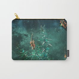 Fairy Flowers in the Jade Moonlight Carry-All Pouch