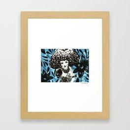 Nuvem é você Framed Art Print