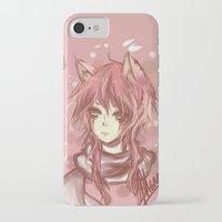 leon iPhone & iPod Cases featuring Leon by MilkNCreams