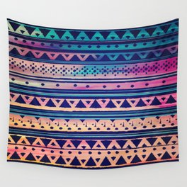 SURF TRIBAL PATTERN Wall Tapestry