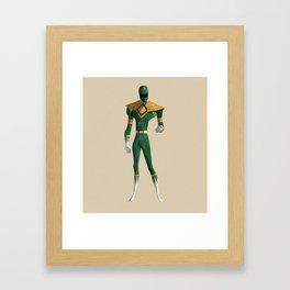 Green Ranger Framed Art Print
