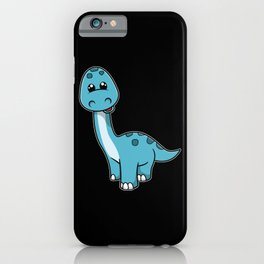Cute little Smiling Dinosaur iPhone Case