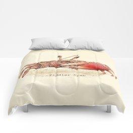 Fiddler Crab Comforters