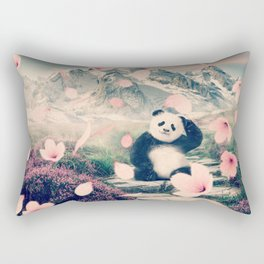 Baby Panda by GEN Z Rectangular Pillow