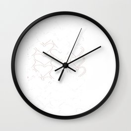 Heart 12.25 Wall Clock