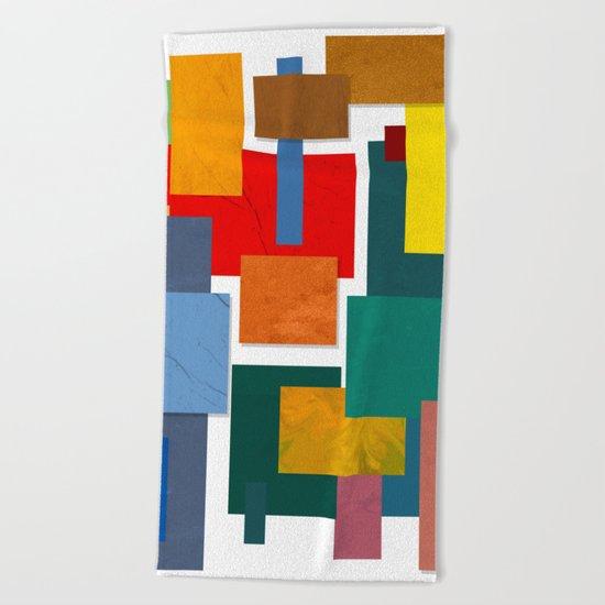 Abstract #338 Beach Towel