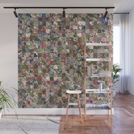 Colorful Quilt Pattern Wall Mural