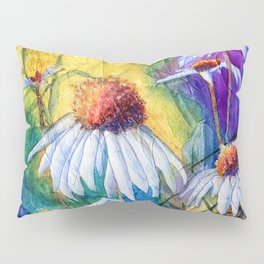 Cone Flowers by Maureen Donovan Pillow Sham