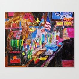 Tiki Bar - 23 May 2013 Canvas Print