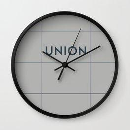 UNION | Subway Station Wall Clock