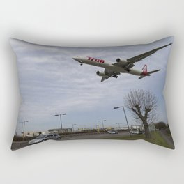 Tam Boeing 777 Heathrow Airport Rectangular Pillow