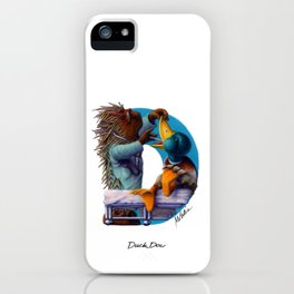 Duck Doc iPhone Case