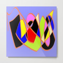 Multicolor blue ign Metal Print