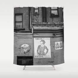East Village Streets XI Shower Curtain