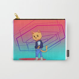 80s cat 1 Carry-All Pouch