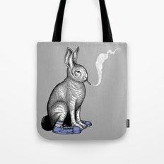 Carrot smoke trick Tote Bag