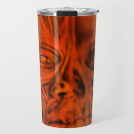 Red Ecorche Travel Mug