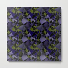 Geometric pattern.2 Metal Print