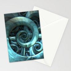 Gone Spiral Stationery Cards