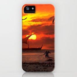 Beach Battlefront iPhone Case