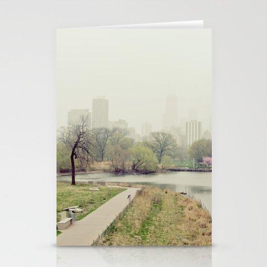 Chicago Fog Stationery Cards
