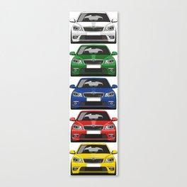 Octavia RS Canvas Print