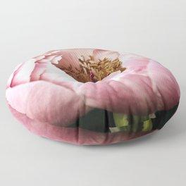 Glinda Pink Peony Floor Pillow