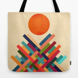 Sun Shrine Tote Bag