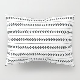 Laurel stripe - back and forth Pillow Sham