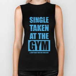Lab No. 4 - At The Gym Gym Motivational Quotes Poster Biker Tank