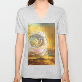 EXPLORERS ONLY / The Biggest Spatial Eye / 26-08-16 Unisex V-Neck
