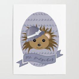 Ms. Hedgehog Poster