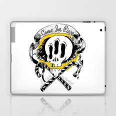 I COME IN PIECE Laptop & iPad Skin